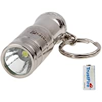 TrustFire Mini - 01 Stainless Steel CREE XM-L T6 3-Modalità LED Torcia Faretto con 1 x CR123A Batteria / Portachiavi(Silver)