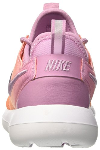 Nike Damen Wmns Roshe Two Br Trainer Mehrfarbig (Orchid/orchid/sunset Glow/white)