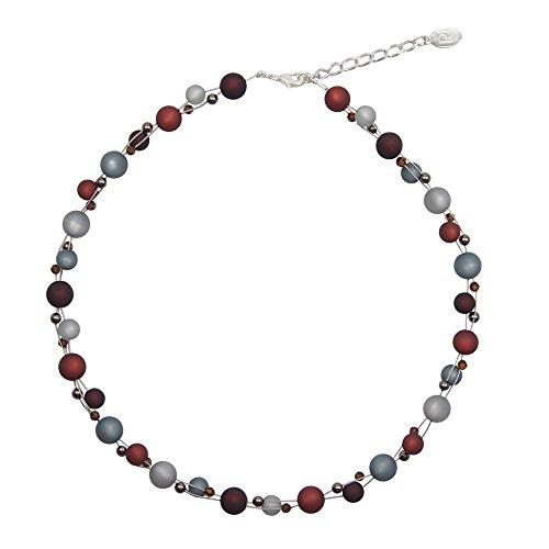 perla pd design Halskette mit echten Polarisperlen mit Swarovski Elements Polariskette
