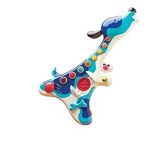 B 70.1206 - Woofer guitarra de juguete con diseño de perro de Battat