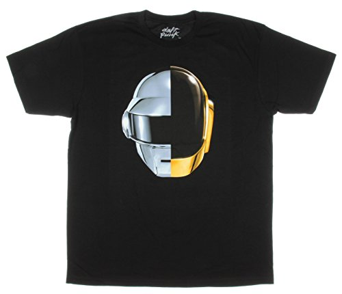 Araca Daft Punk - Camiseta para Hombre, diseño de Casco - Negro...