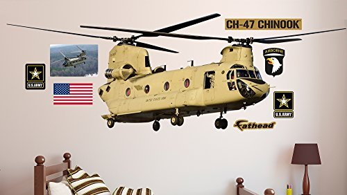 Fathead CH-47 Chinook Helicopter Underlying Decals by FATHEAD
