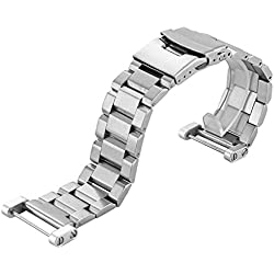 Fulltime(TM) Stainless Steel Quick Release Watch Band Strap+ Lugs Adapters For Suunto Core watch