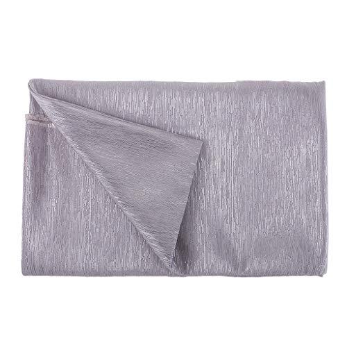 Hellery 0,5 Yard Metallic Polyester Stoff Für