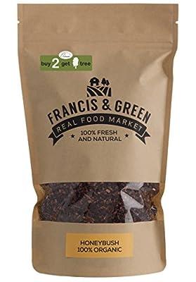 Francis & Green - Honeybush thé BIO en vrac, 200g