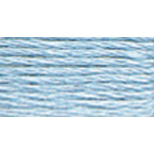 DMC 117-800 Stickgarn aus Baumwolle, 6 Stränge, Hellblau
