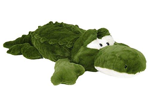 üschtier Krokodil Alligator - 115 cm Gross Plüschkrokodil Stoffkrokodil Plüsch ()