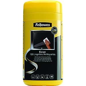 Fellowes 9970311 lingettes nettoyantes pour écran boîte de 100
