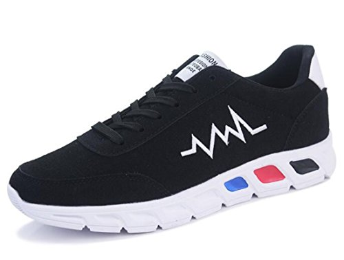 Men's Super Cool Soft Comfortable Athletic Running Shoes Black