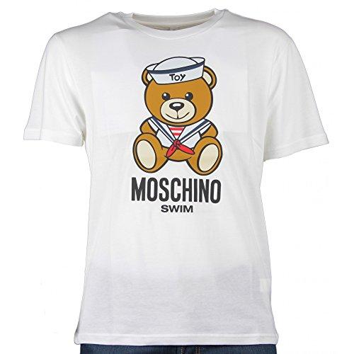 Moschino t-shirt uomo mod.5a-1908-2813 bianco - m