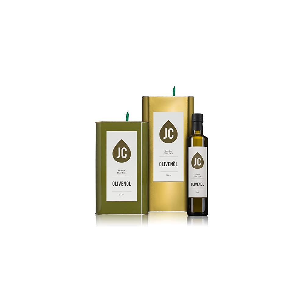 Jc Olivenl Premium Nativ Extra In 3 Gren Erhltlich 500ml 3 Liter 5 Liter Neue Ernte