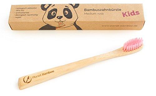 Planet Bamboo Bambus Zahnbürste für Kinder