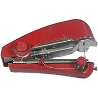 ULTNICE Machine à coudre manuelle sans fil portative de mini machine à coudre portative pour la couture