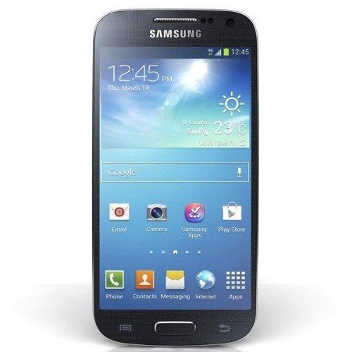 Samsung Galaxy S4 mini Smartphone (10,85cm (4.27Zoll) AMOLED, Micro-Sim, 8 GB interner Speicher, 8 Megapixel Kamera, LTE, NFC, Android 4.2) schwarz - Asia Version Prepaid Camera Cell Phones
