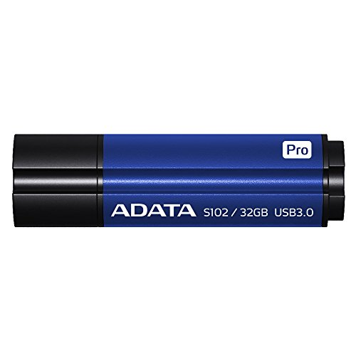 ADATA Superior Series S102 Pro, USB 3.0 Pen Drive, blau - 32 GB