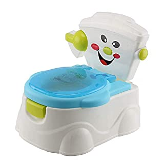 AllRight Kids Toilet Training Seat - Fun Toddler Baby Travel Potty Trainer Seat with Splash Guard – Removable Parts & Portable