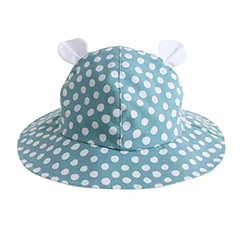 sansee Cotton Chapeau d'été chapeau de soleil pour bébé, bleu