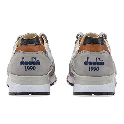 Diadora Heritage Baskets N9000 H Ita Pour Homme C4828 - Grigio Rainy-blue Deep