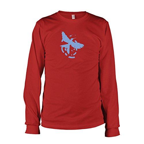 TEXLAB - Flammender Zorn - Langarm T-Shirt, Herren, Größe XL, ()