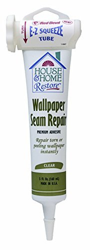 red-devil-0878-wallpaper-seam-repair-adhesive-ez-squeeze-clear-5-ounce-by-red-devil