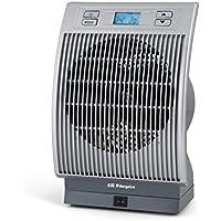 Orbegozo FH 6036 Calefactor, 2200 W, Plata y Gris