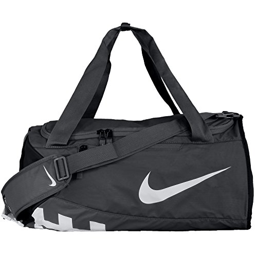 Nike Nk Alpha S Duff Sporttasche, Herren Einheitsgröße grau (Flint Grey/schwarz/weiß)