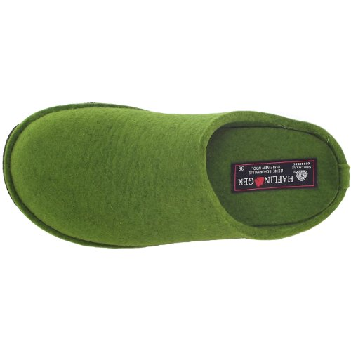 Haflinger Flair Soft, Chaussons mixte adulte gras green