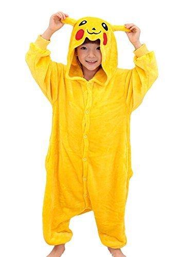 Tonwhar??Pikachu Kigurumi Costumes for Children...