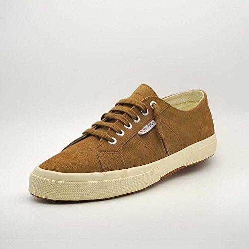 Superga  2750 Sueu, Sneakers Basses mixte adulte Brown (Marron AF5)