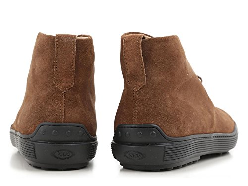 Boots Tod's homme en peau Retournée Noisette - Code modèle: XXM0XF0N460RE0S818 Noisette