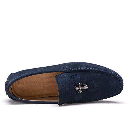 Minitoo , Sandales Compensées homme Bleu - bleu