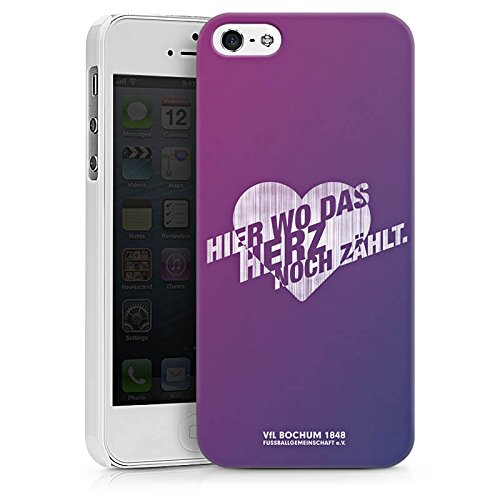 Apple iPhone X Silikon Hülle Case Schutzhülle VfL Bochum Fanartikel Fußball Hard Case weiß