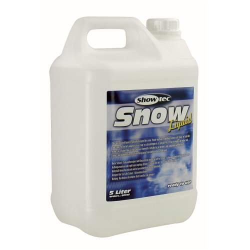 Showtec 80358liquido per lavatrice a neve 5L
