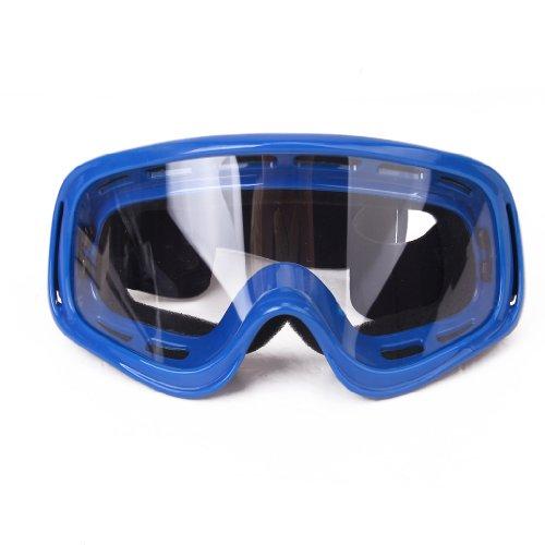 Motocross Mtb ATV / Dirtbike Dirtbike Off Road Racing Schutzbrille Schutzbrille - Blau