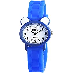 QBOS Unisex Watch Analogue Rubber Quartz RP4828300002