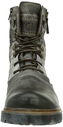 Yellow Cab Apache M, Bottes Combat de hauteur moyenne, doublure froide homme Marron - Braun (DKBRWN)