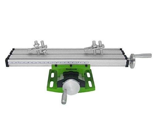 Preisvergleich Produktbild NRG Clever® BG6300 Präzisions-Kreuztisch mit Kreuztischschieber, für CNC, Säulenbohrmaschinen, Fräsmaschinen. Arbeitsstation 310x90mm.