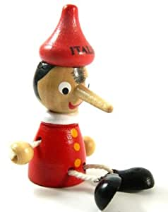 Pinocchio Toy Figure Doll Wood Italy Puppet Fridge Magnet MY-2272