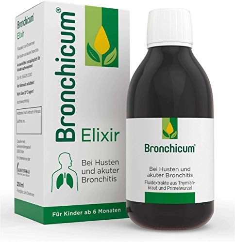 BRONCHICUM Elixir 250 ml Flüssigkeit