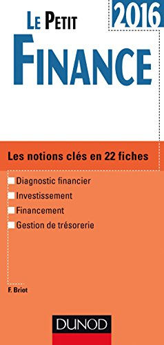 Le Petit Finance 2016 - 8e éd. - Les no...