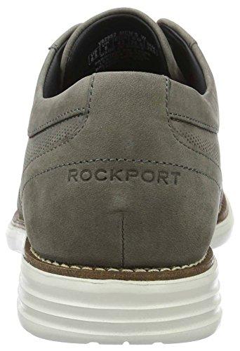 Rockport - Tm Perfed Wingtip, Scarpe stringate Uomo Grau (grey Nbk)