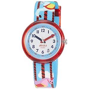FlikFlak Mädchen Analog Quarz Uhr mit Stoff Armband FPNP031