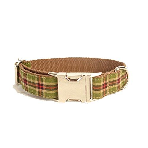 Kismaple Einstellbar Gepolsterter Hundehalsband, Nylon Haustier Hund Halsbänder Für kleine mittlere große Hunde Training, Gehen (XS (Breite: 2.0cm Länge: 23-30cm))