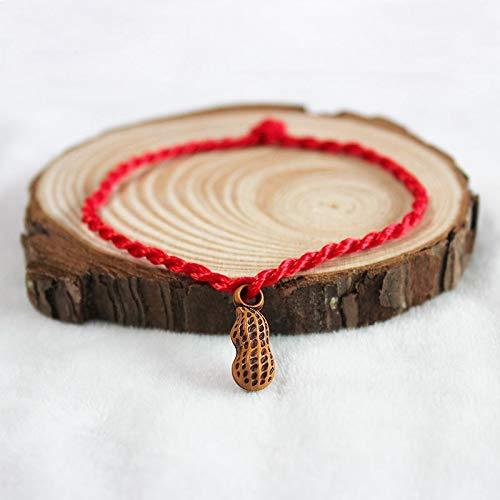 d Armbänder Armband,Mode Persönliche Elegante Zwei Fisch Evil Eye Charm Red String Seil Geflochtene Gewinde Herz Armbänder Für Frauen Männer Liebhaber Paar Mutter Geschenk Schmuck ()