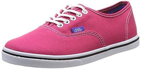 Vans U Authentic Lo Pro Vw7Nfka , Baskets mode mixte adulte - Rose (Rose Red/Purple Iris) , 41 EU (8.5 US)