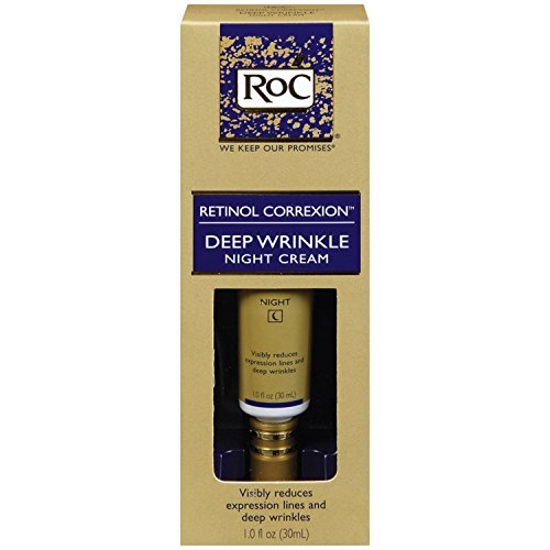 Deep Wrinkle Night Cream (Roc Retinol Correxion Deep Wrinkle Night Cream, 1 oz by RoC)