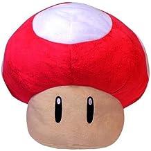 Super Mario setas de gran tamano súper peluche (roja)