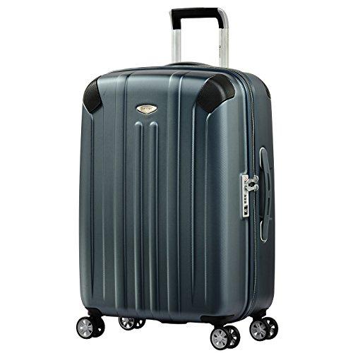 Eminent Koffer Boulder 66 cm 71 L Zusätzlicher Kantenschutz 4 Leise Doppelrollen TSA Schloss Graphit