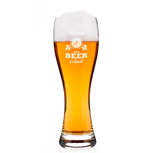 leonardo-weizenglas-maxima-mit-gravur-its-beer-oclock-mit-wunschnamen-perfekt-zum-vatertag