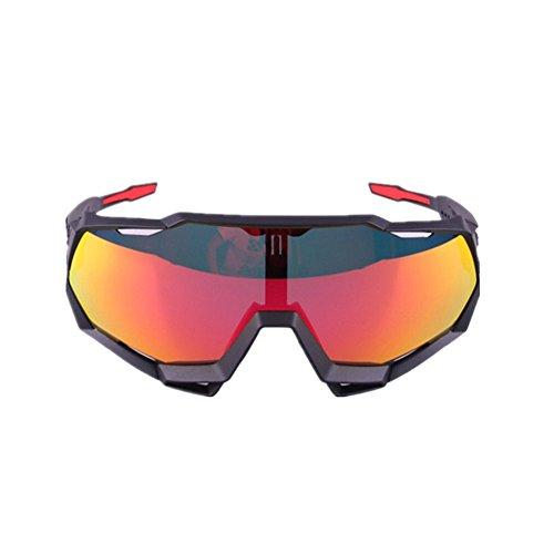 YFQ Laufbrille Brille Outdoor Sports Tour De France Mountainbike Sonnenbrille Windschutzscheibe